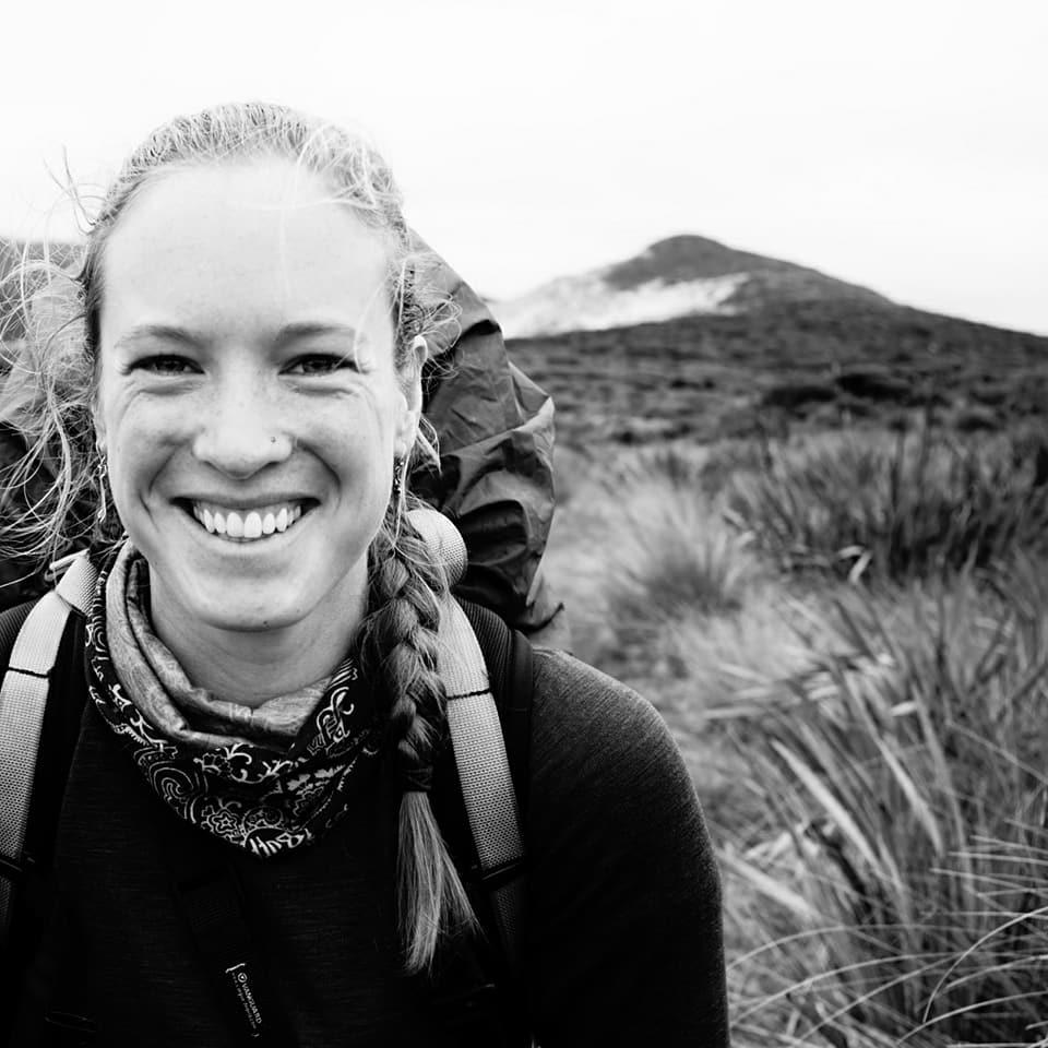 Hayley Kingsley -  Kayak Guide with Roaring 40s Kayaking, Hobart, Tasmania, Australia