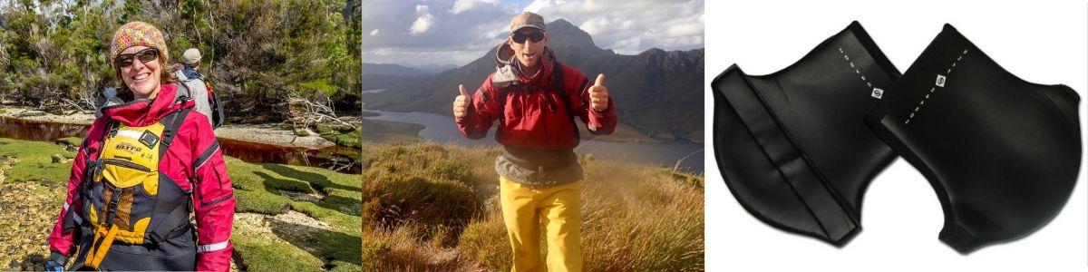 Roaring 40s Kayaking blog - Reg's tips on cold weather vs warm weather kayaking - cold weather