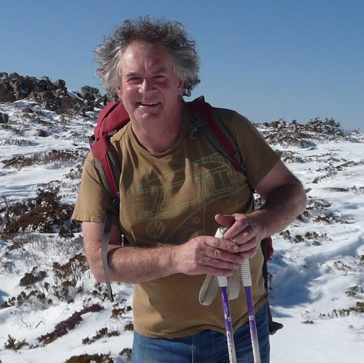 Roaring 40s Kayaking - Maugean skate iwith Associate Professor Neville Barrett