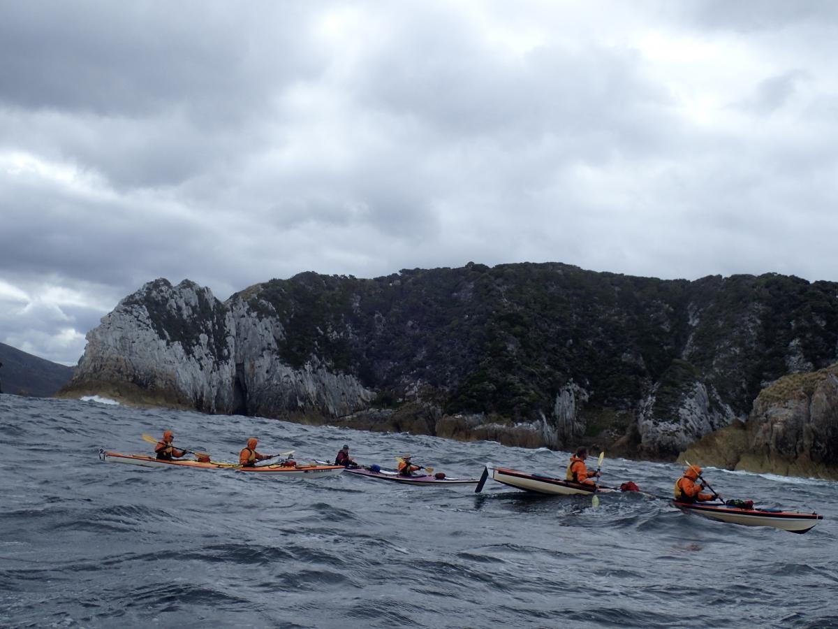 Roaring 40s Kayaking blog - Reg's tips on cold weather vs warm weather kayaking - Southwest Tasmania