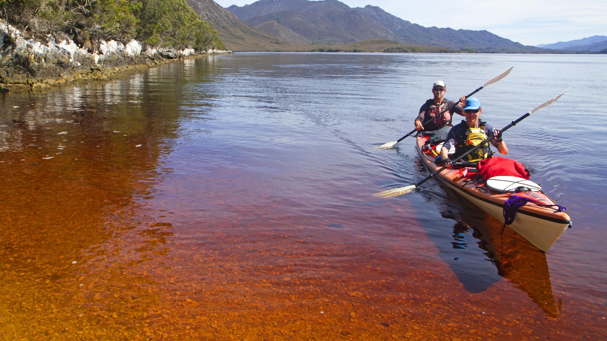 Roaring 40s Kayaking - Kayaking adventures Tasmania, kayaking in Southwest Tasmania