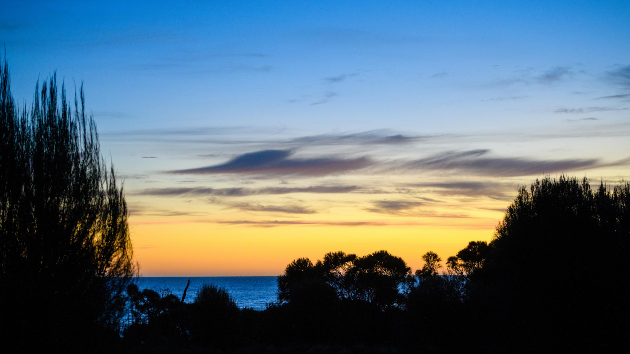 Flinders Island sunset