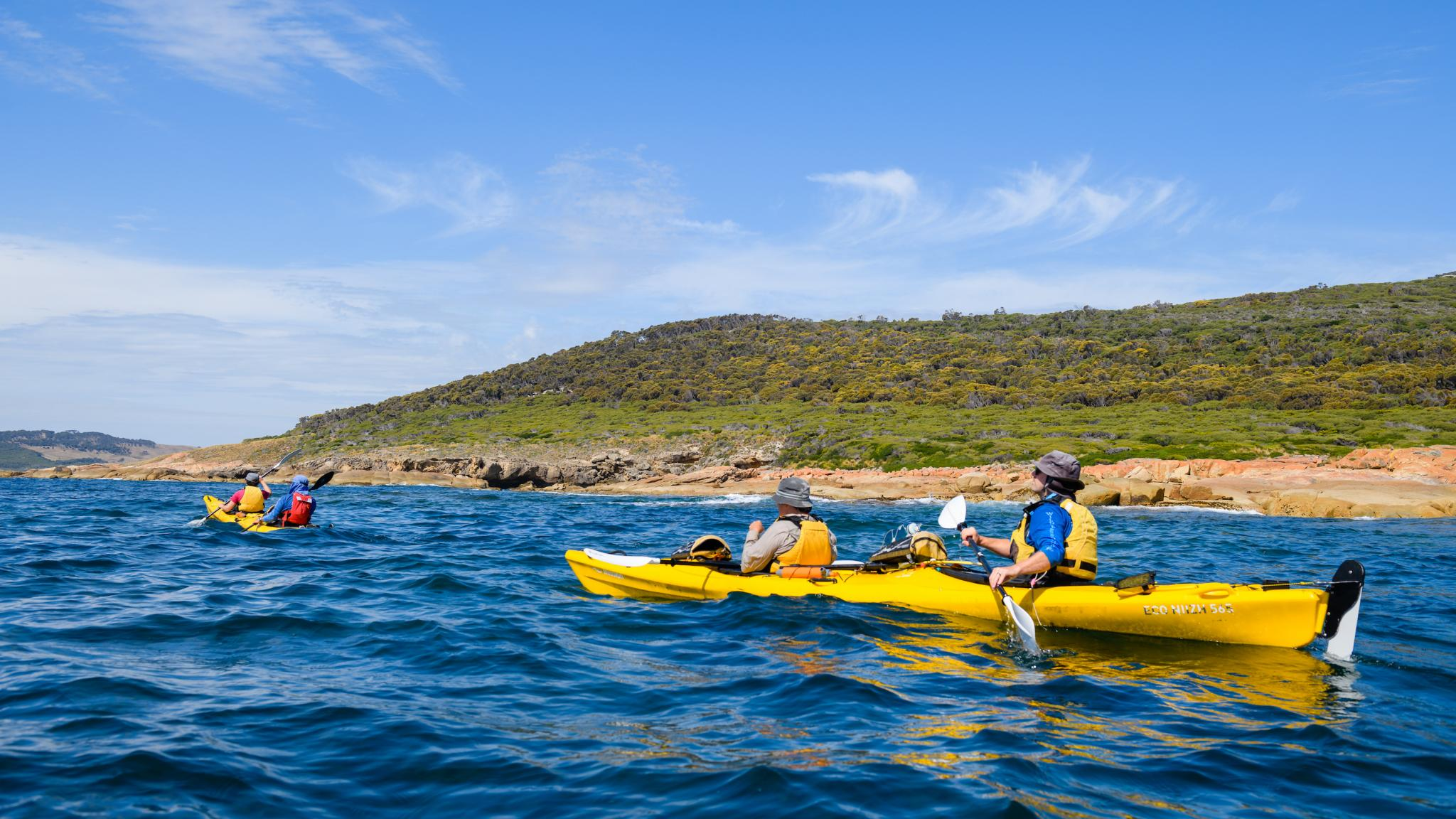 Flinders Island kayaking