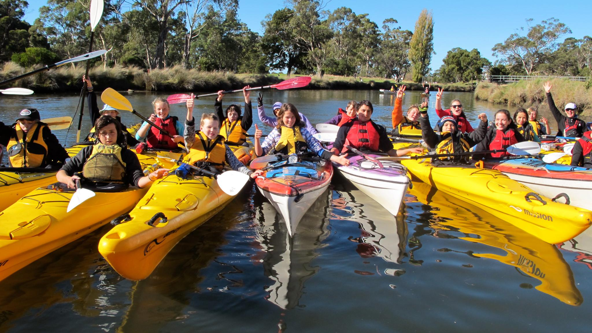 Roaring 40ºs Kayaking - School and group kayaking activites Hobart Tasmania
