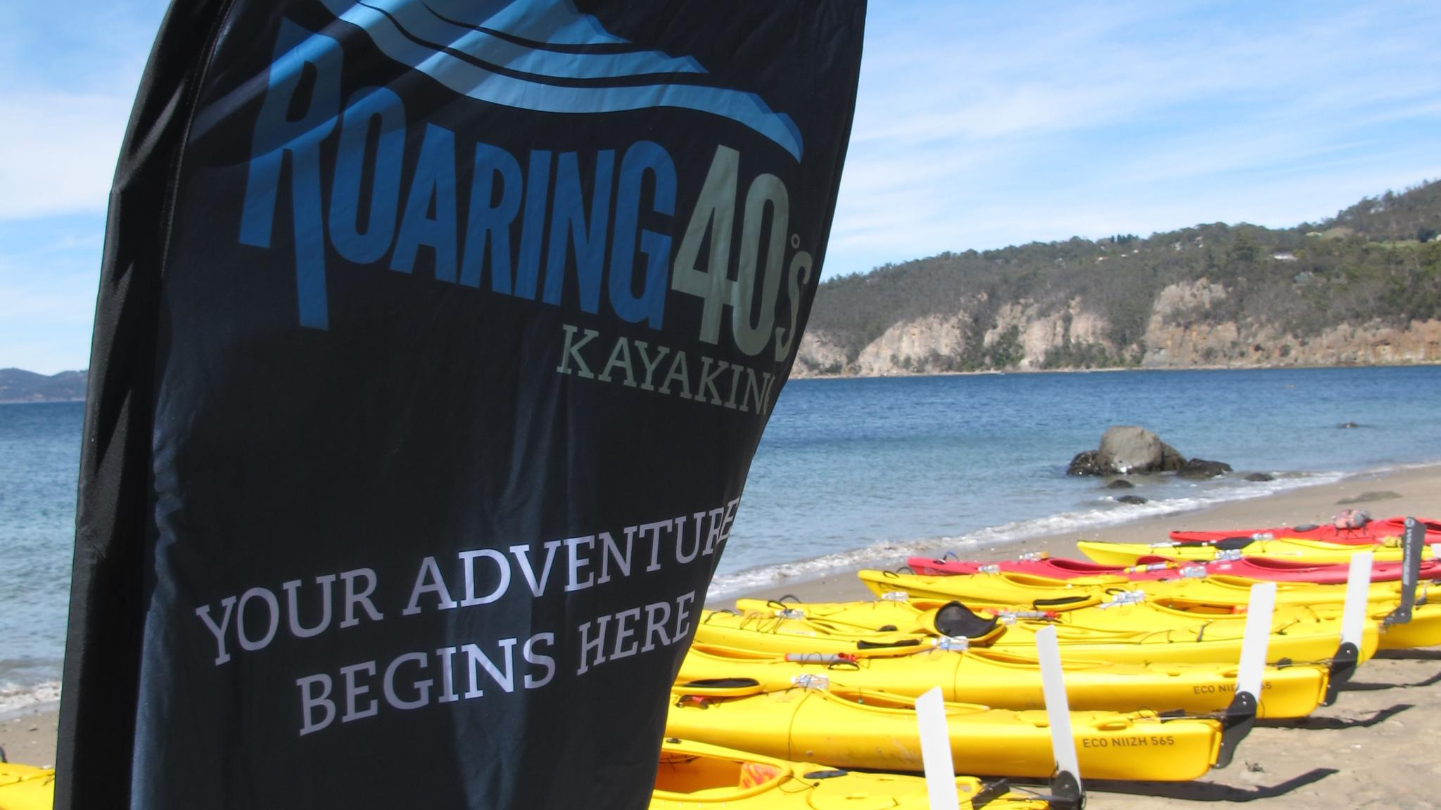 Roaring 40ºs Kayaking - Group kayaking tours Hobart Tasmania