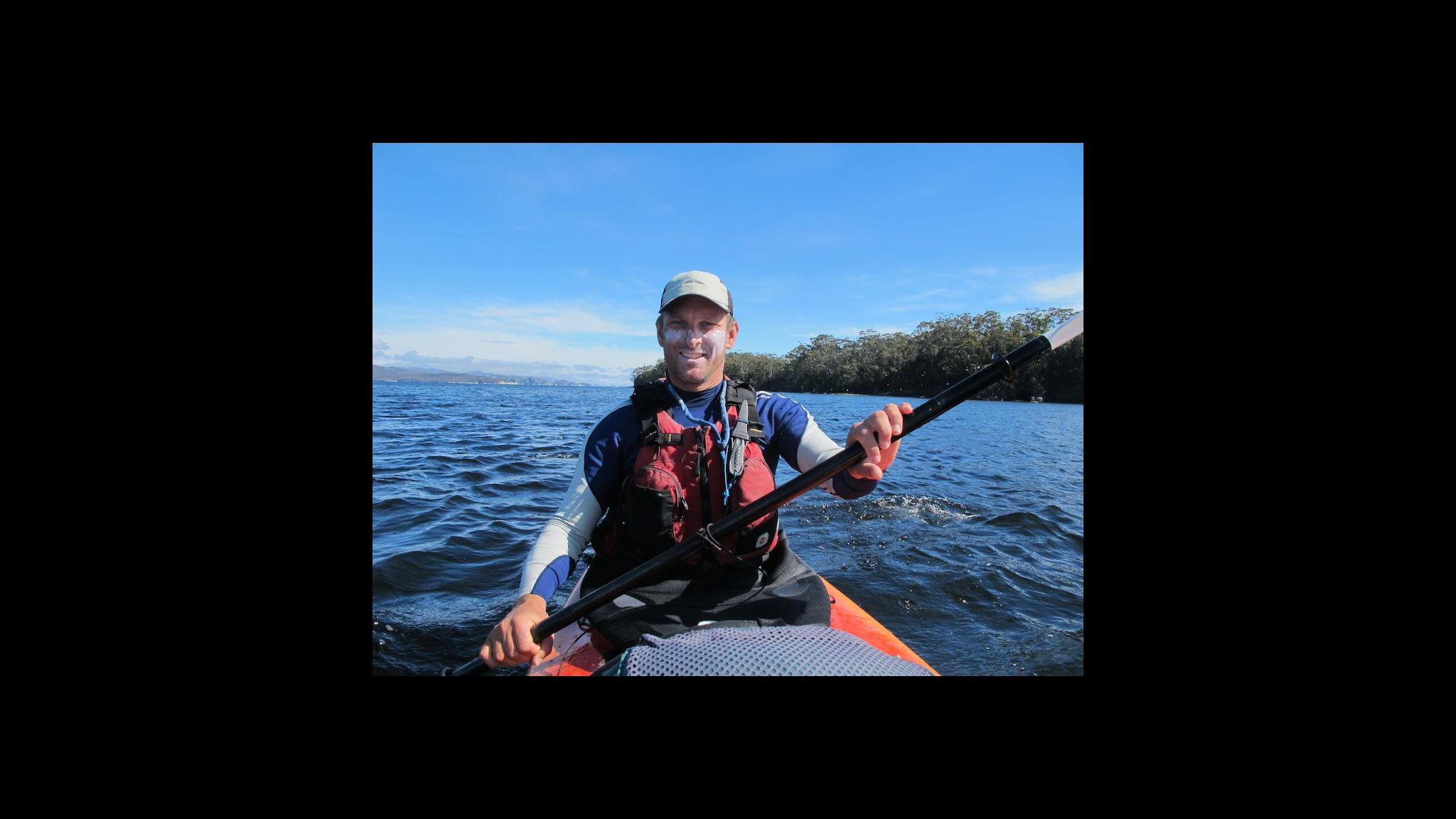 Roaring 40s Kayaking - Reg qualified Paddle Australia sea kayak assessor and instructor Hobart Tasmania