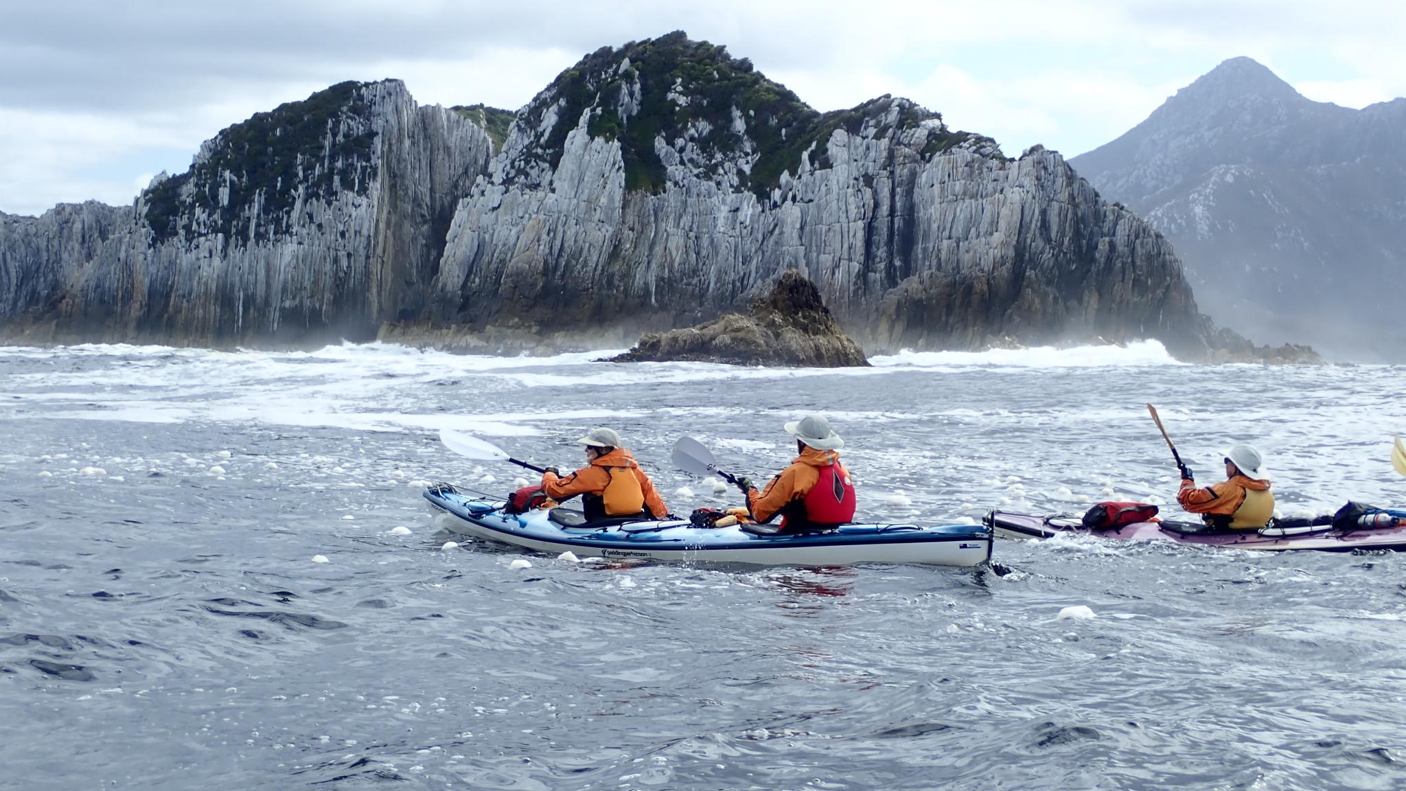 Roaring 40s Kayaking - Kayaking adventure tour, Port Davey, Southwest Tasmania