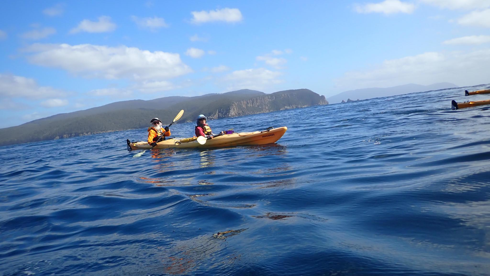 Adventures Tasmania - Multiday sea kayaking tour on Fortescue Bay, Tasman Peninsula