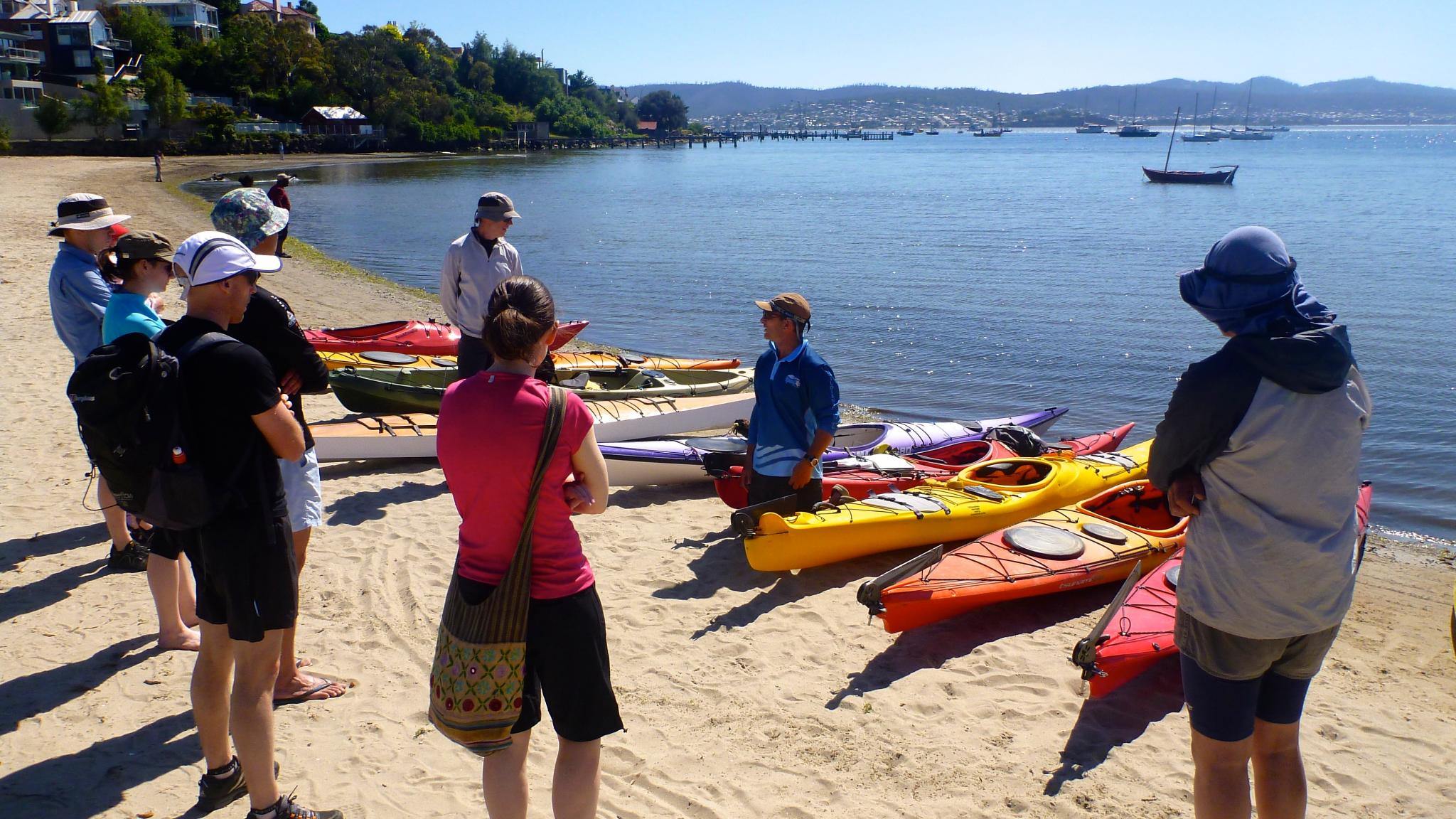 Roaring 40s Kayaking - Tasmania's most comprehensive sea kayaking instructional program