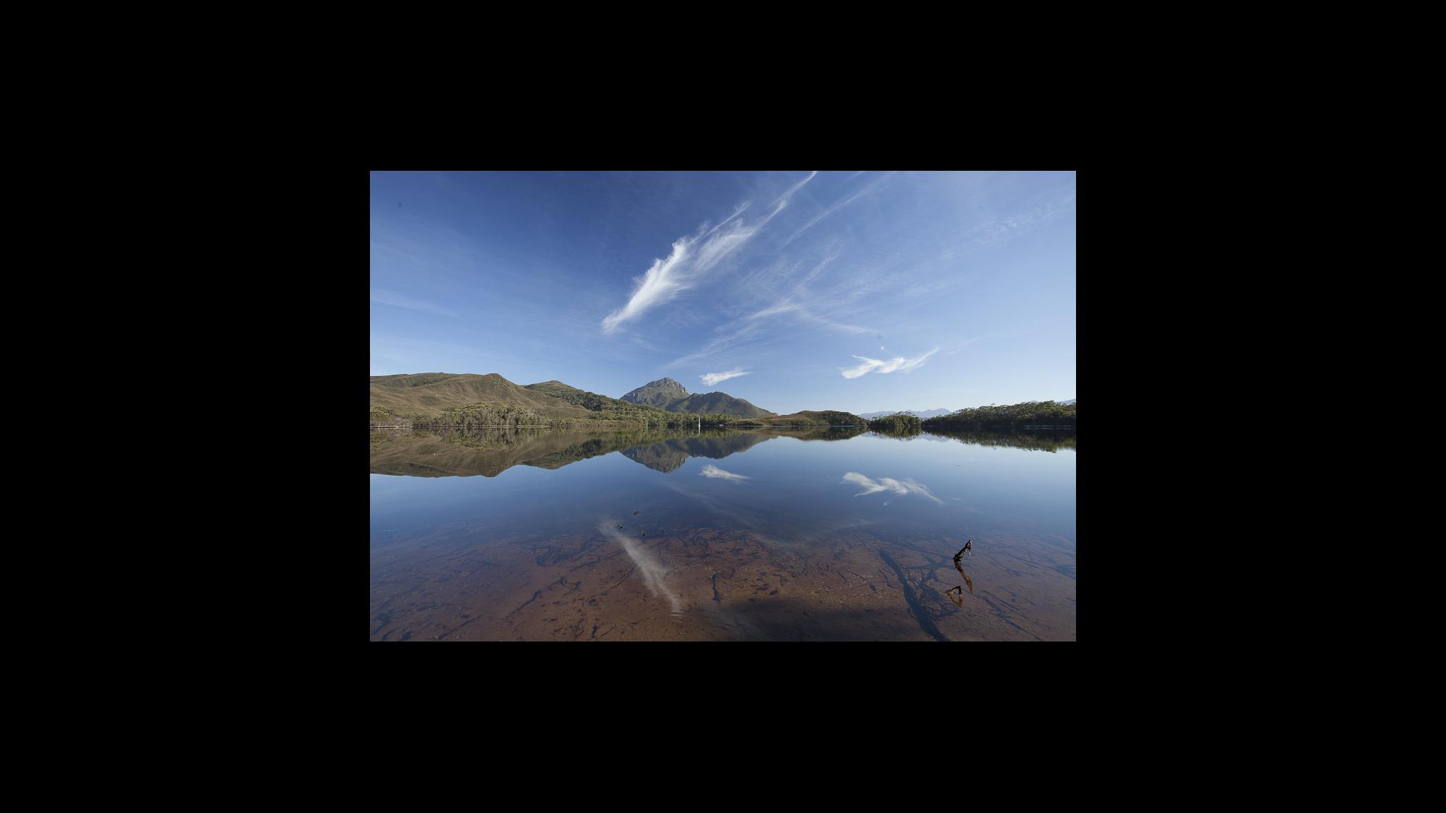 Roaring 40s Kayaking - Calm water for kayaking on multi day tour Tasmania