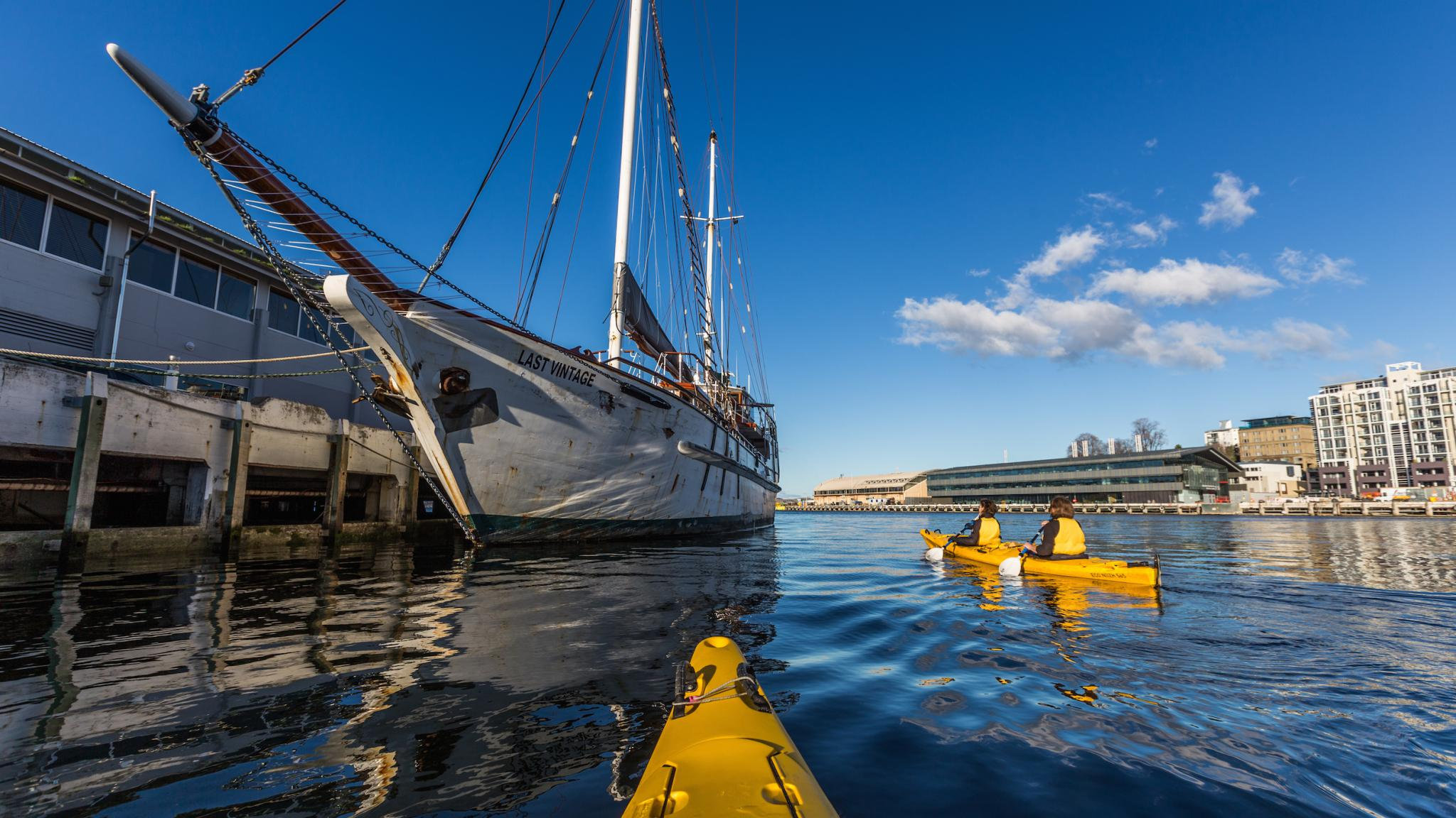 Roaring 40s Kayaking - Kayaking Hobart - One of the best things to do in Tasmania