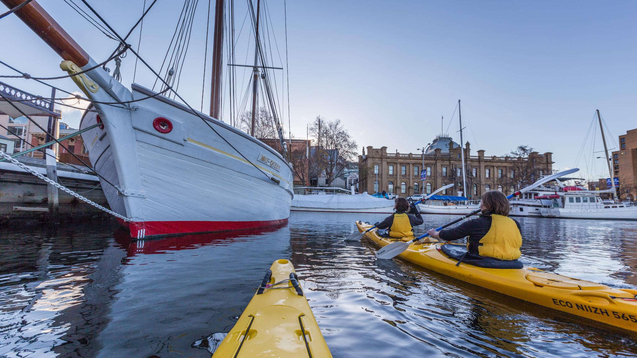 Roaring 40s Kayaking - Kayaking Hobart Waterfront - One of the best things to do in Hobart