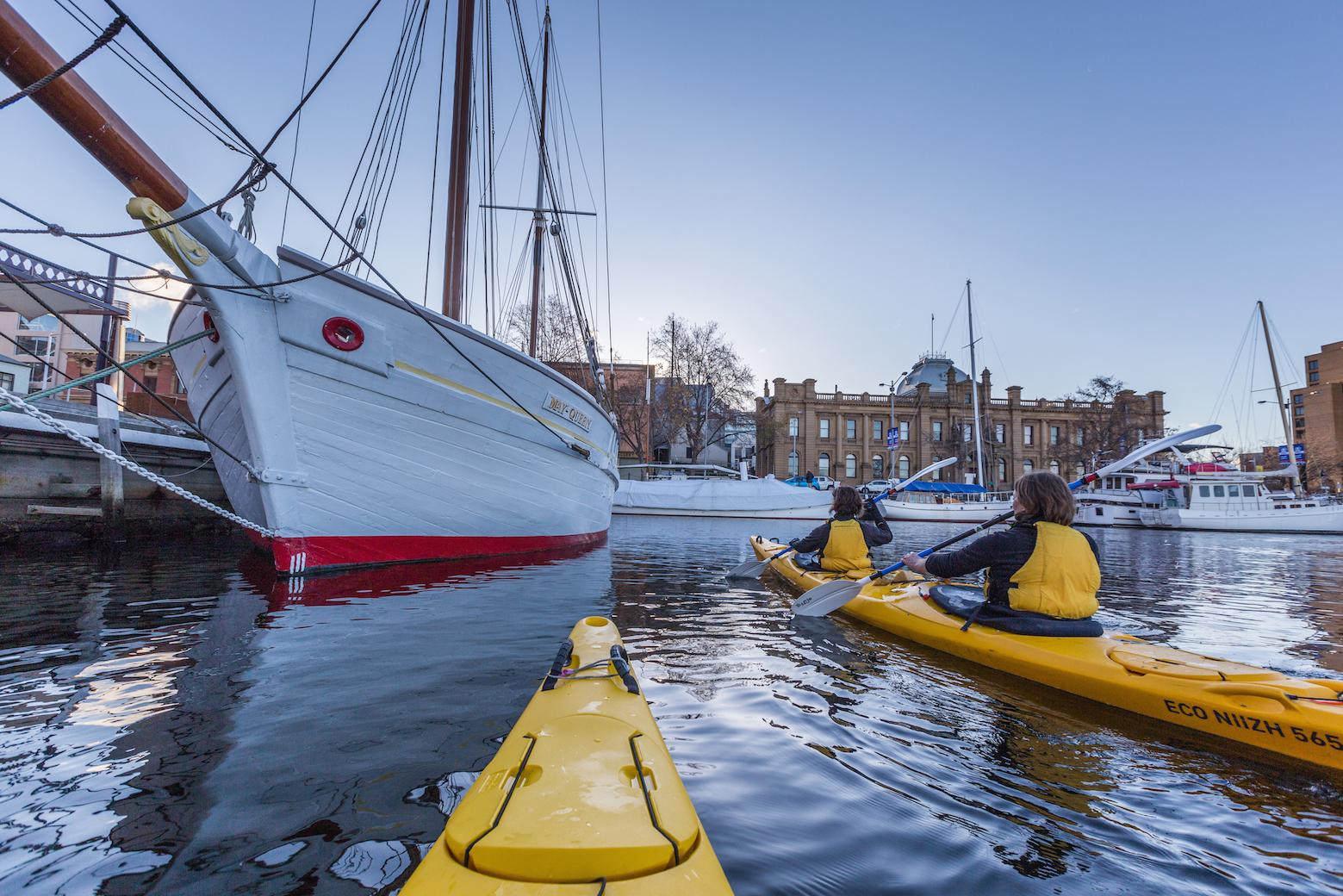 Kayaking Hobart's Iconic Waterfront