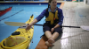 Roaring 40s Kayaking - Pool Kayak Rescue Instruction
